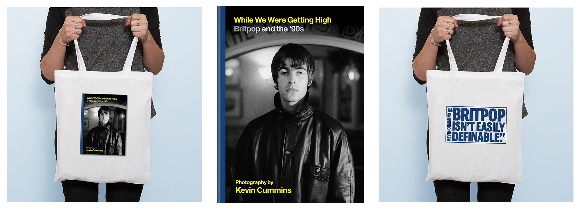 """While We Were Getting High: Britpop and the '90s in photographs with unseen images"" by Kevin Cummins"